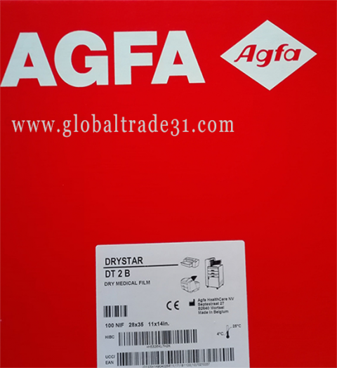"Agfa Direct Thermal Blue Film (DT 2B) – Blue Base – 11""x14"" 