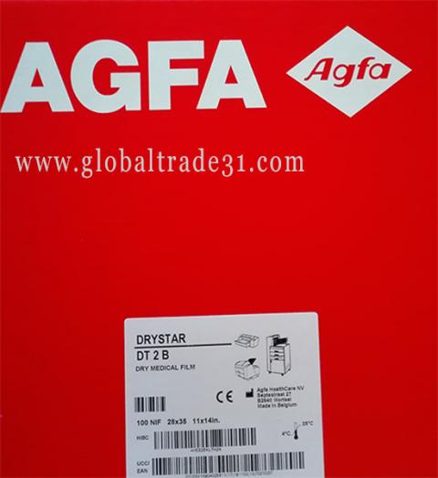 "Agfa Direct Thermal Blue Film (DT 2B) – Blue Base – 11""x14"" | 28 x 35 CM"