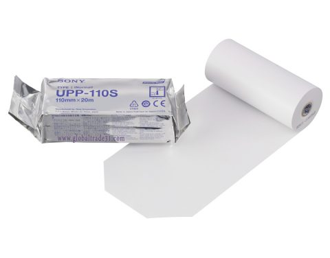 upp110s-sony print media video thermal paper
