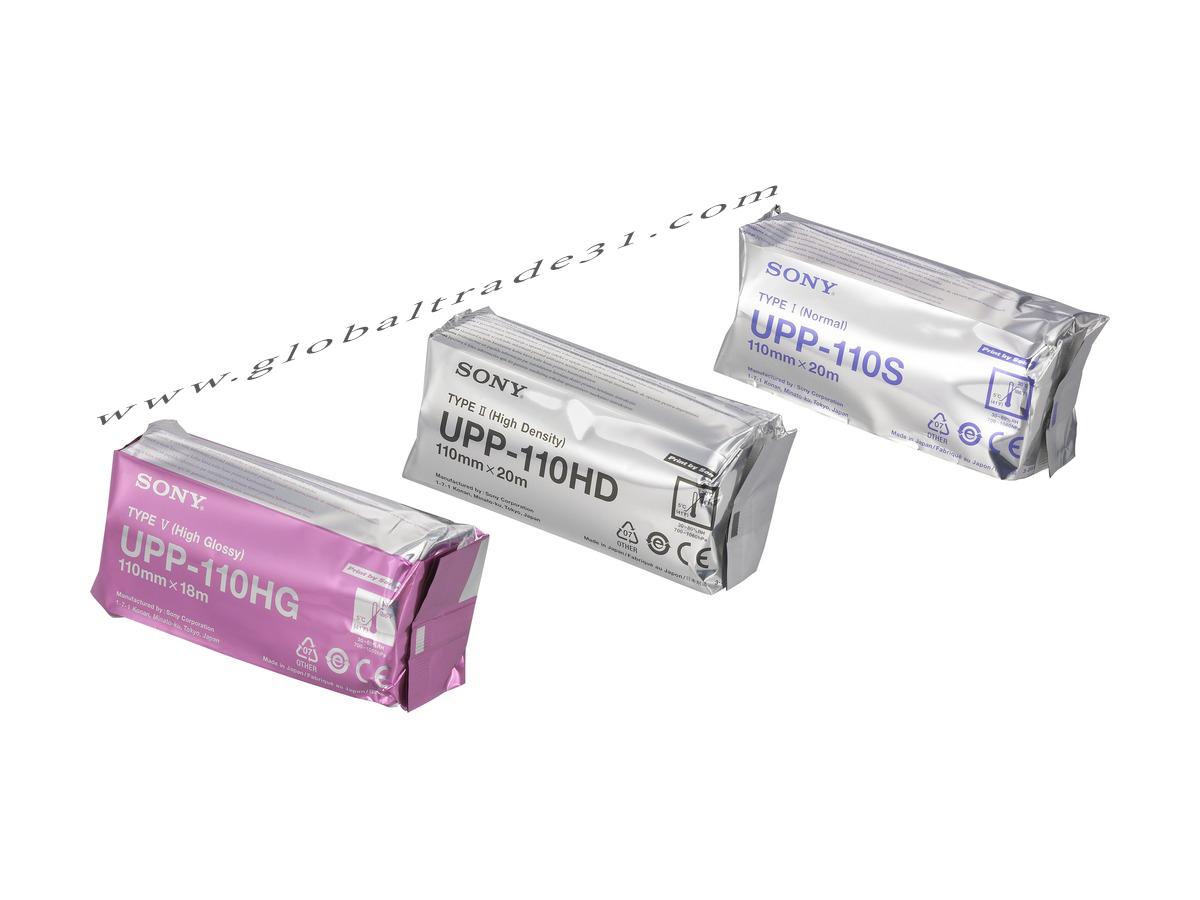 Sony UPP-110HG Type V Thermal Print Media paper high glossy