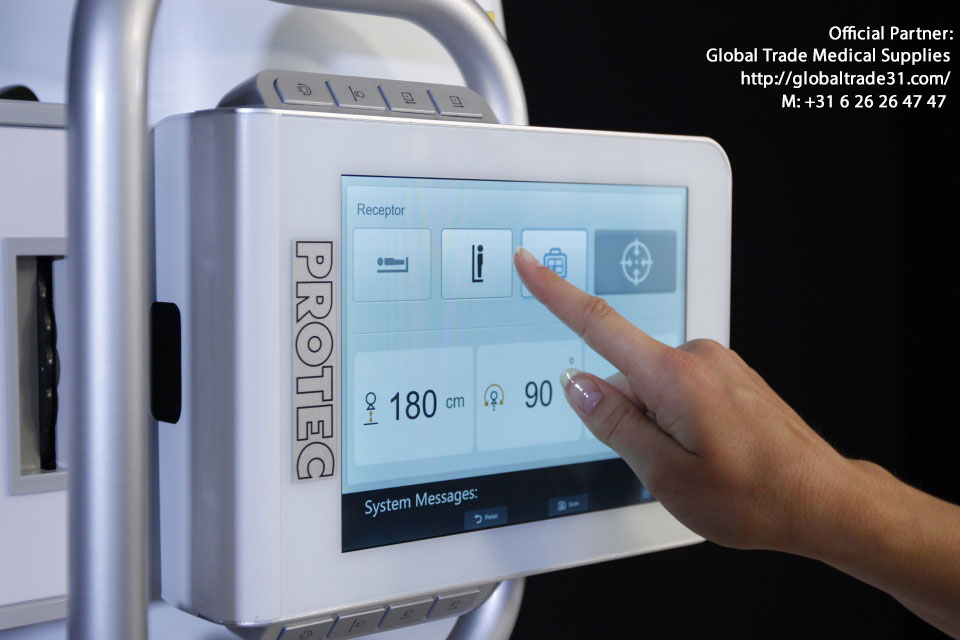 medical x-ray system digital DR CR detector viewing software offical dealer global trade medical supplies Amsterdam