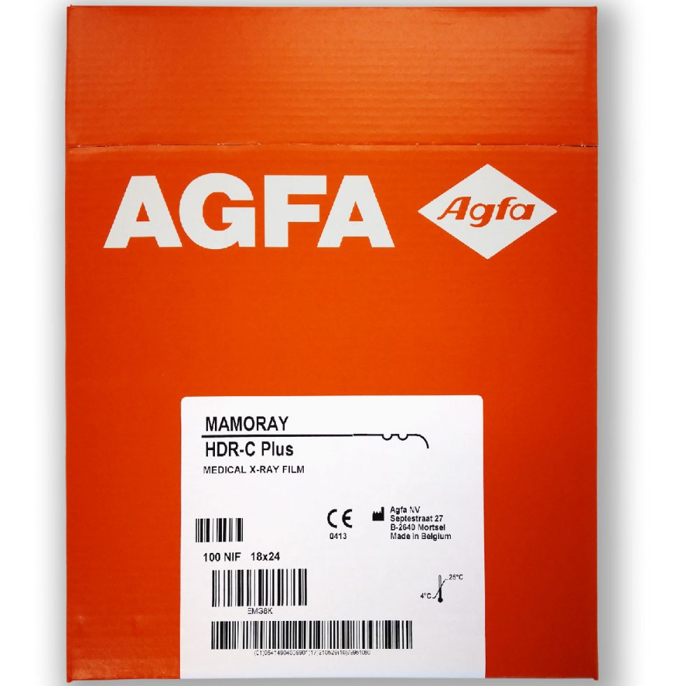 Agfa x ray mammography mamoray HDR C plus flms